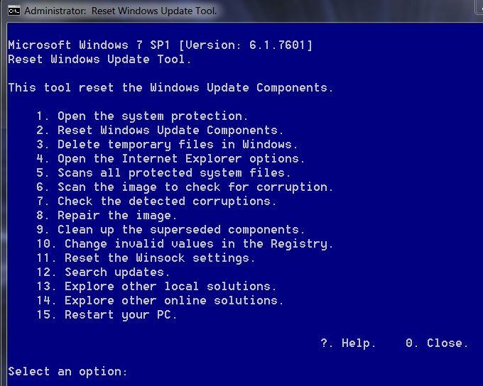 Windows 7 won't update