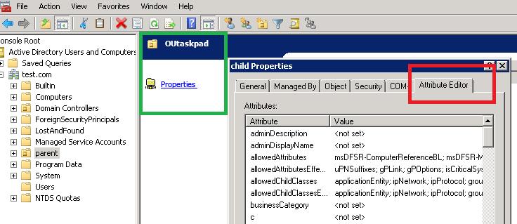 File attribute editor