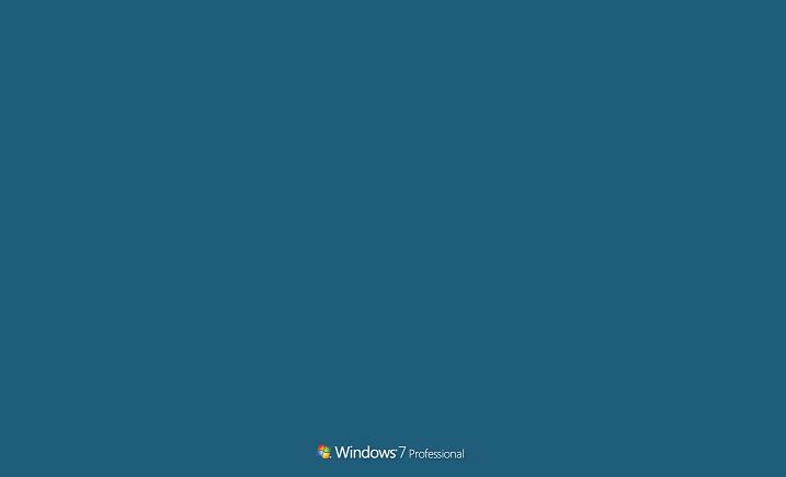 Remote desktop gives blank screen