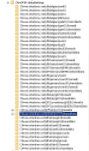 DFS-R WMI duplicate results - Wmic /namespace:\\root