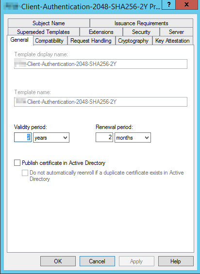 Pki multiple duplicate certificates autoenroll can anyone help me yelopaper Choice Image