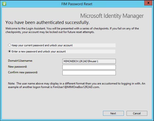 microsoft login account reset