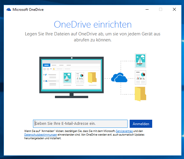 How to prevent OneDrive Setup prompt after first Log-In Onedrive Login