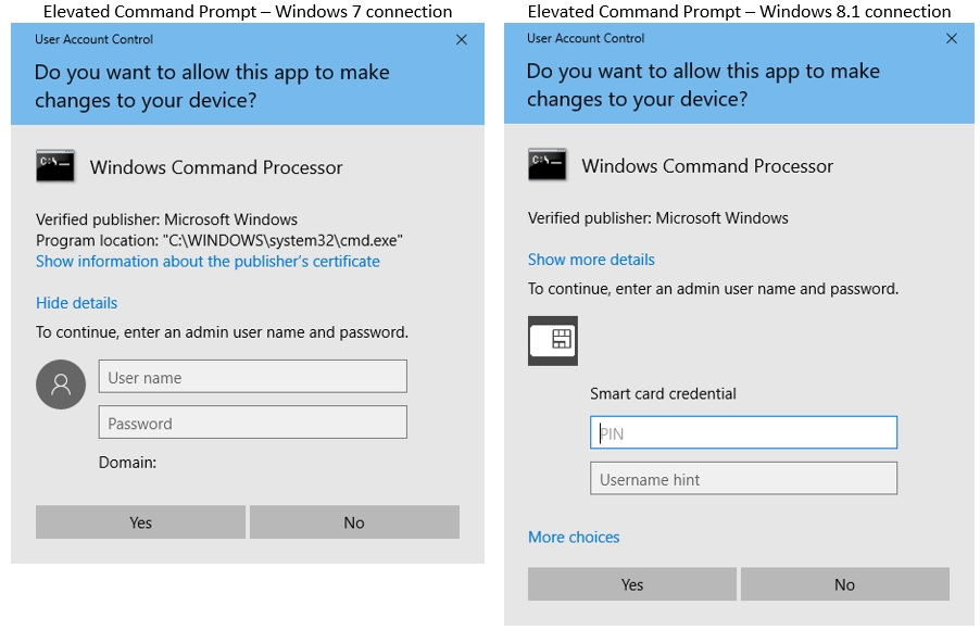 Remote desktop to Windows 10 with Smart Card