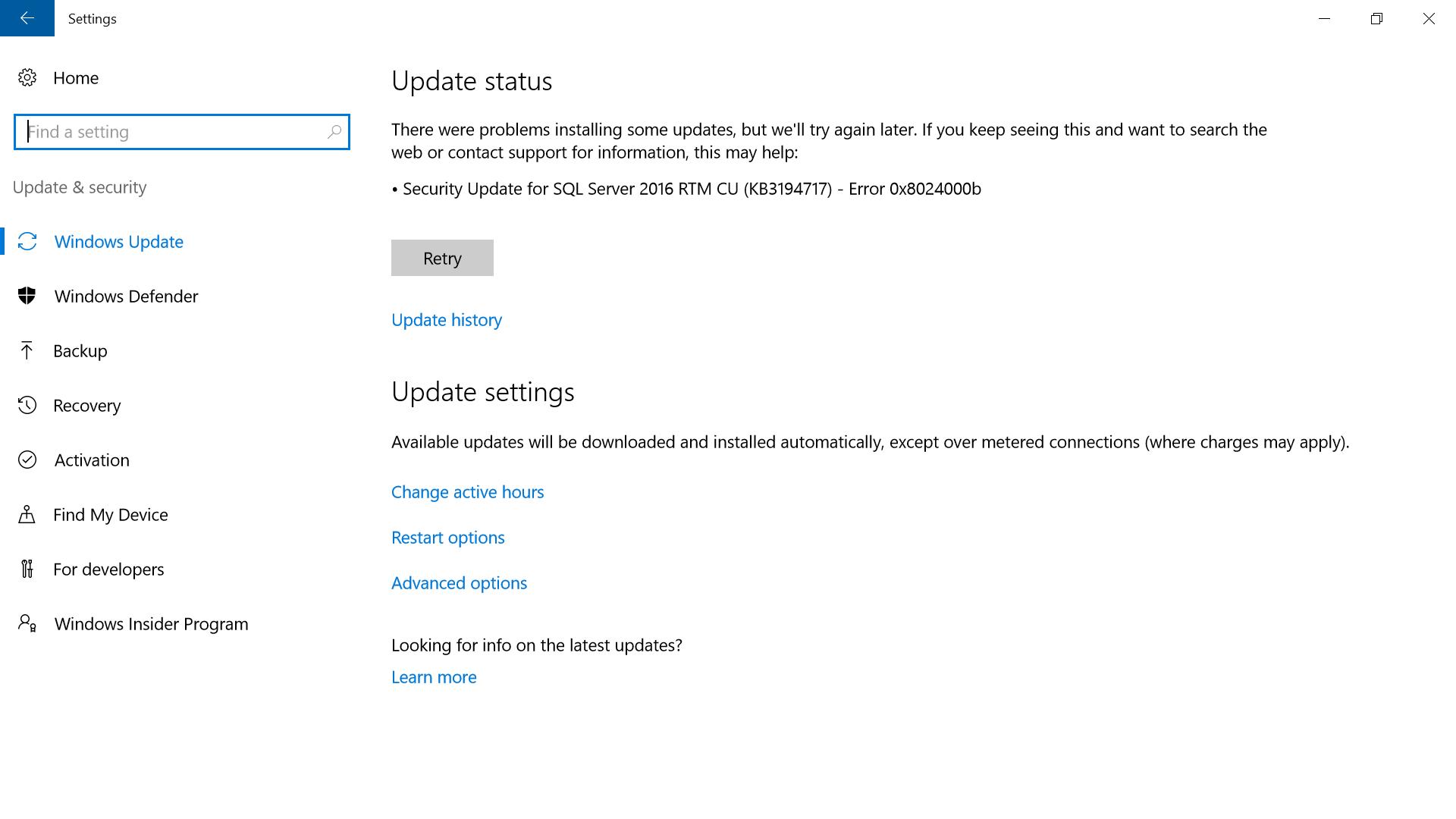 November Cumulative Updates - KB3198585 for Windows 10 RTM
