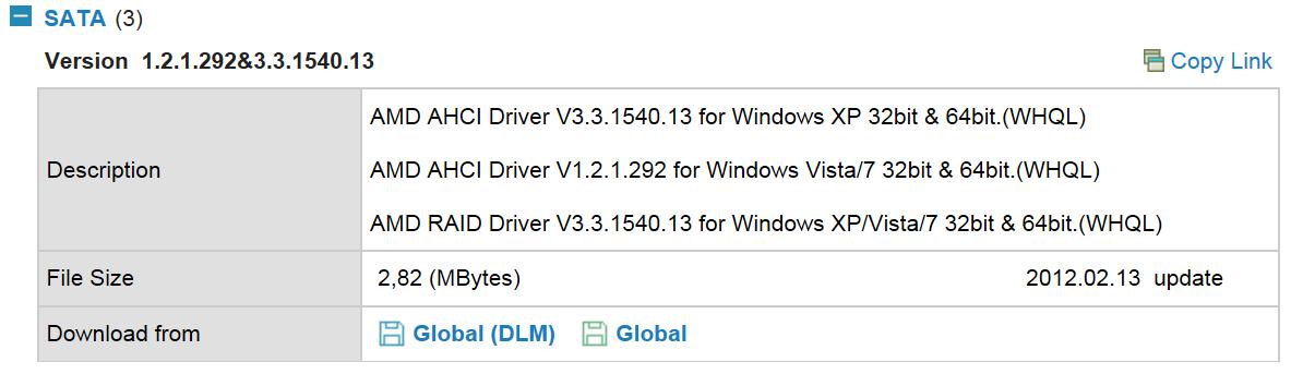 change to ahci windows 7