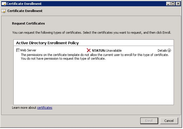 Server 2008 r2 ca issues this is the error i get on the lync server when trying to renew the certificate yadclub Images
