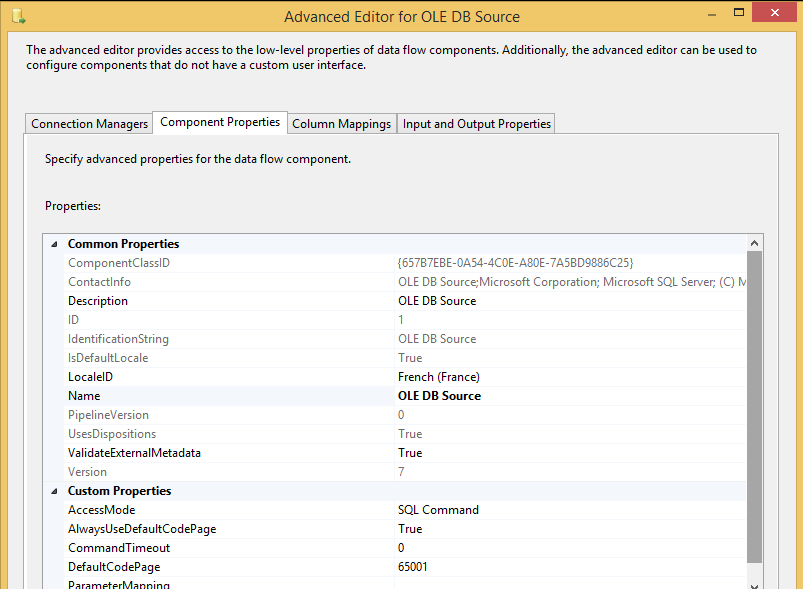 SSIS 2014 - Export to CSV file UNICODE - UTF8