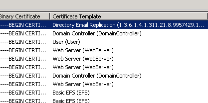 Directory email replication certificate and domain controller whats the best way to get the domain controllers to switch over to getting all their required certificates from the new ca before their existing yadclub Image collections
