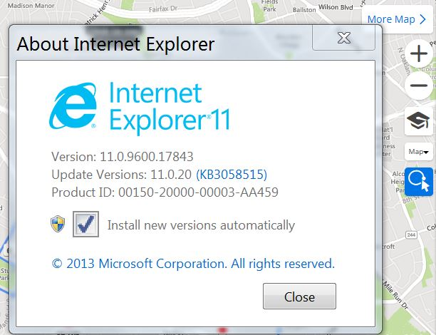 IE11.0.9600.17843 (working)