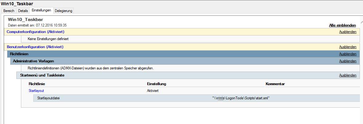 windows server 2012 r2 update ausblenden