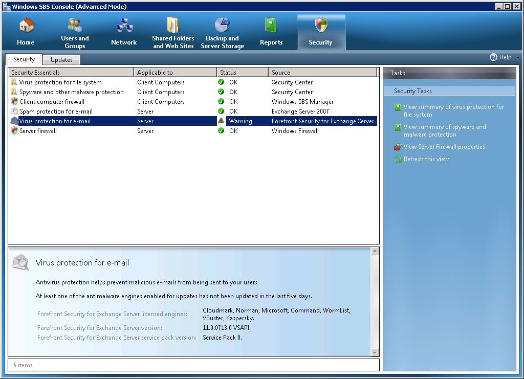 Cloudmark anti spam engine not updating