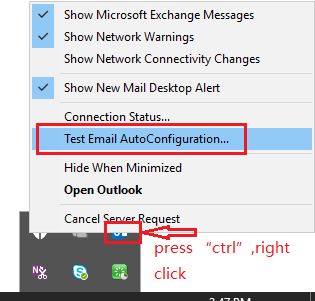 Outlook keep connecting and disconnecting from exchange 2013