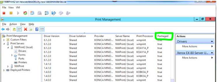 Konica Minolta Universal Print Driver Printix Administrator