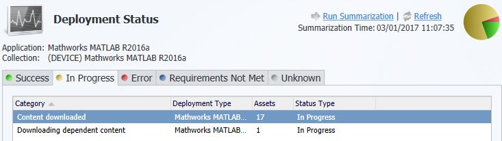 SCCM - Deployment Monitoring not showing all devices in