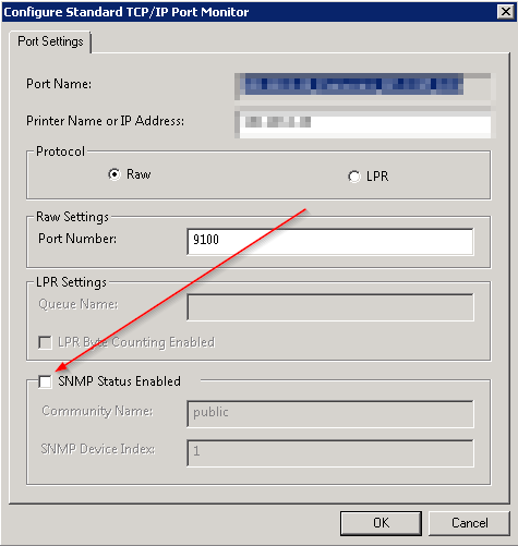 Shared Printer showing Offline in the Client PC