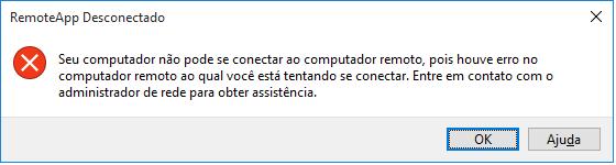 RemoteApp Desconectado