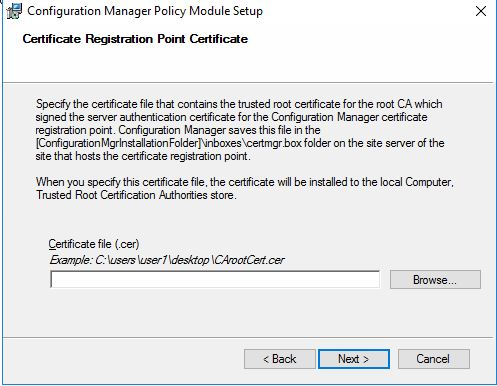 SCEP certificate enrolling using ConfigMgr 2012, CRP, NDES and ...
