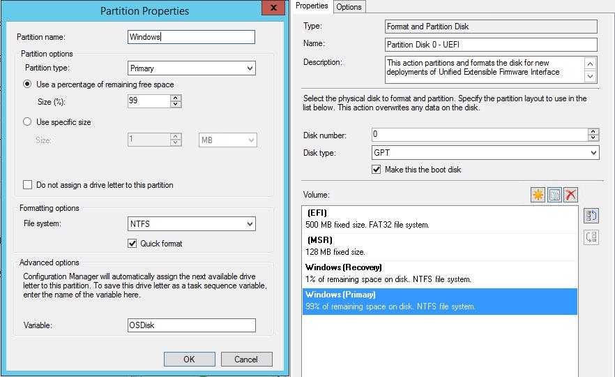 Pre-Provision Bitlocker - TPM 2 0 - SCCM 1610