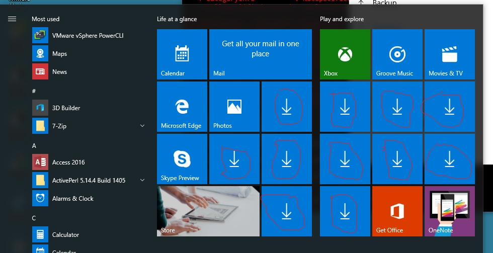 how to refresh windows 10 start menu