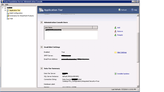 How to Configure TFS Notifications in Team Foundation Server 2010 ...