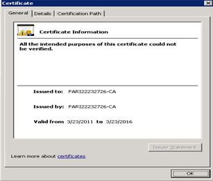 how to build a certificate authority in windows