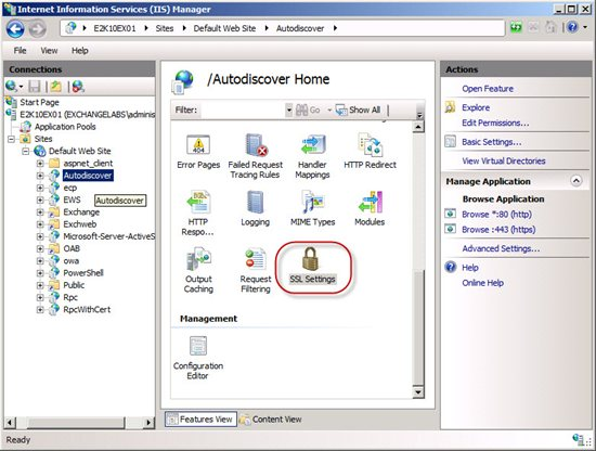 How to Configure SSL Offloading in Exchange 2010 - TechNet