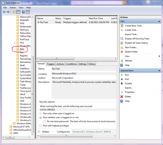 How to Enable and Disable Reliability Monitor Data
