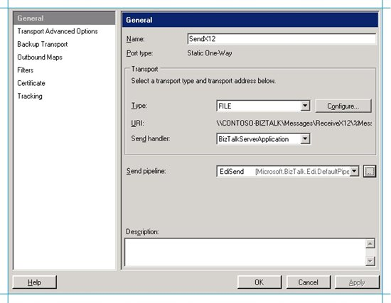 BizTalk Server EDI Scenario: Send an X12 Message and Receive an