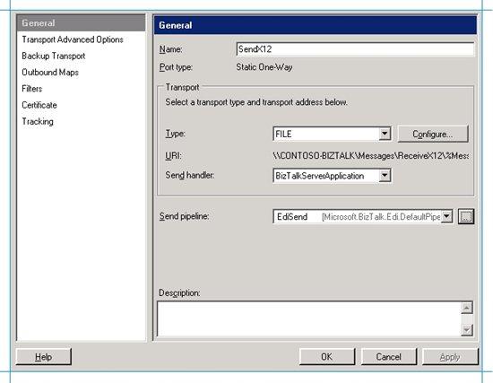BizTalk Server EDI Scenario: Send an X12 Message and Receive an