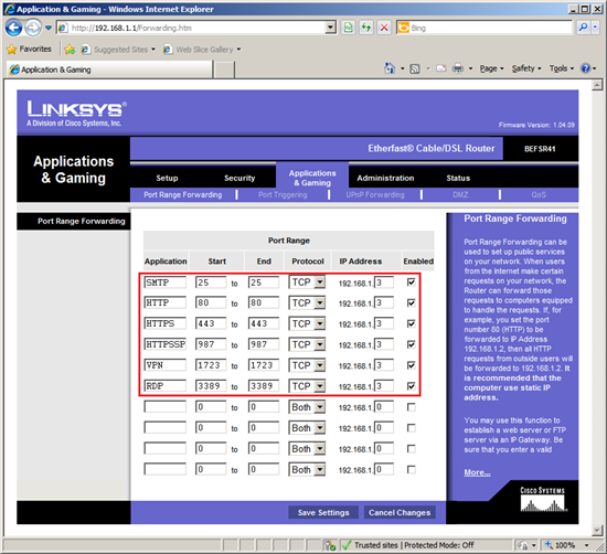 SBS 2011 Essentials: Router Setup - TechNet Articles - United States