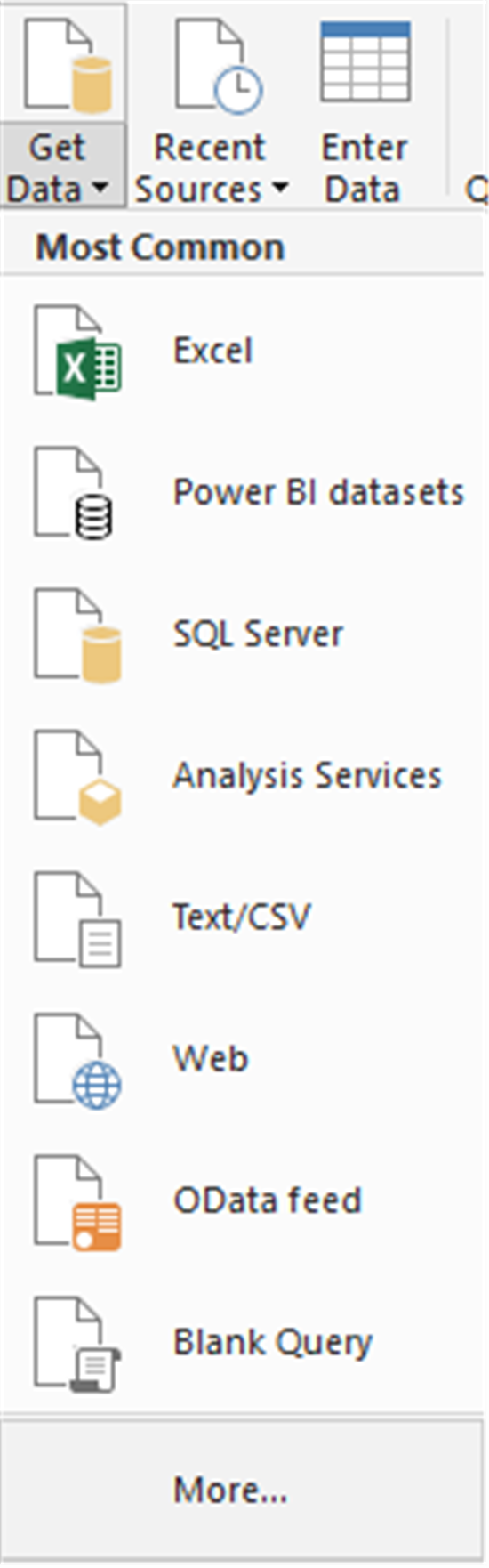 Power BI Desktop - Database Connectors - cloudopszone com