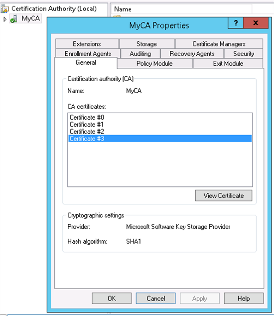 Adcs Troubleshooting Roll Back Your Certificate Authority Renewal