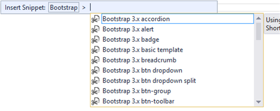 Visual Studio Tools for Bootstrap - TechNet Articles