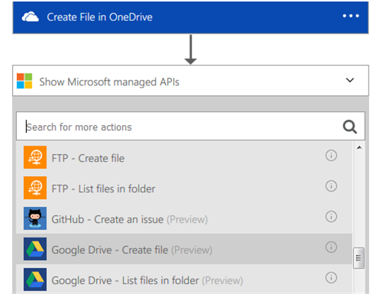 Microsoft Azure Logic Apps: Syncing your DropBox, OneDrive and