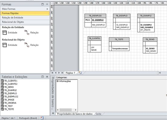 Reverse engineering a sql server database using visio technet after you run the reverse engineering is possible customize your tables including details and relationships about your fields and indexes ccuart Choice Image