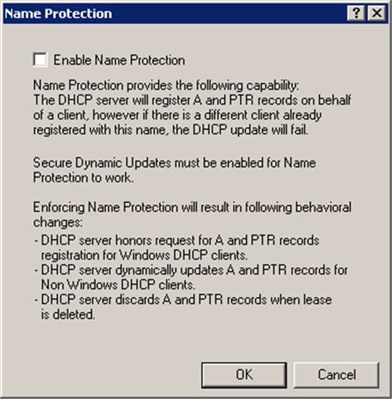 How to Secure DNS Updates on Microsoft DNS Servers - TechNet