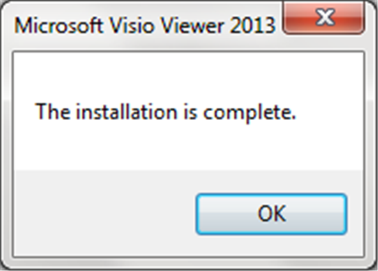 after the installation you will be able to open your visio files and they will be opened in internet explorer - Open Visio Files Without Visio