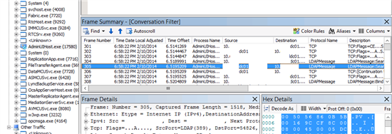 how to find lync server address
