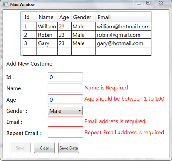 Data Validation in MVVM - TechNet Articles - United States (English