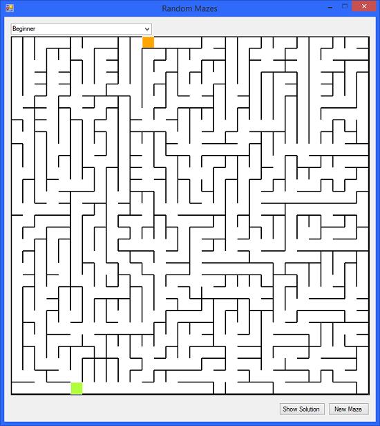 VB Net - Random Maze Games - TechNet Articles - United