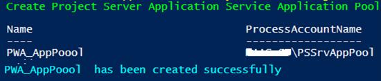 Project Server 2016 Configurator Script