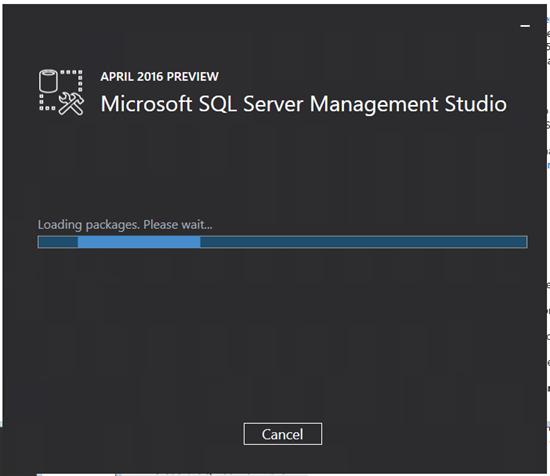 SQL Server 2016 Management Studio: Installation - TechNet Articles - United States (English ...