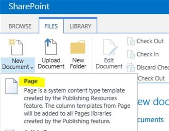 Build a custom SharePoint page template to display site columns ...