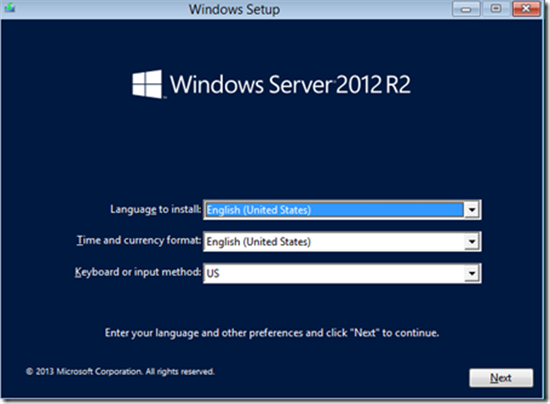 Windows Server 2012 R2: Installation & New Features - TechNet ...