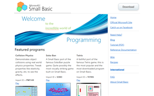 Small Basic Web 1.0 on 2011