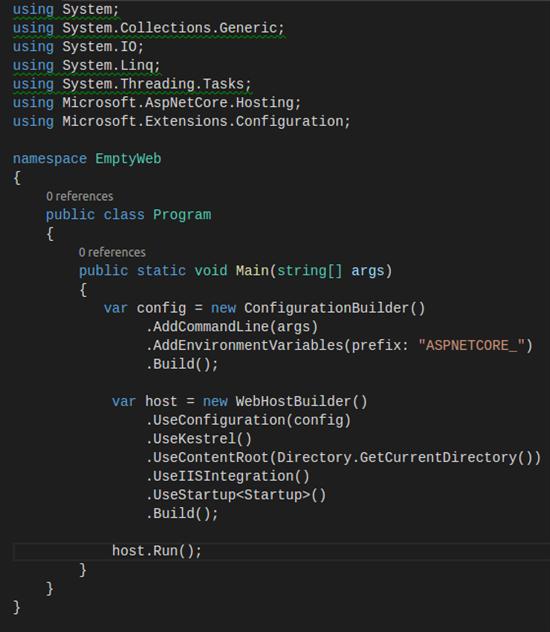 program.cs file
