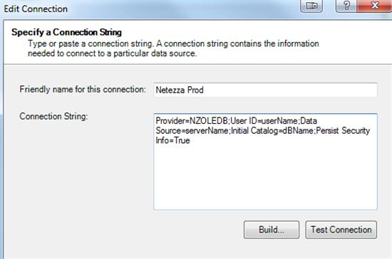 netezza odbc driver silent install