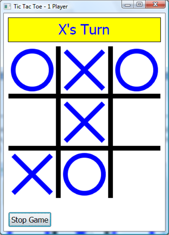 Programming Games with Small Basic: Chapter 6: Tic Tac Toe
