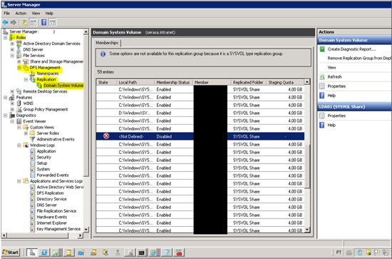Active directory troubleshooting multiple members are referencing the same computer object - Console active directory ...